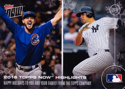 2016-17 Topps Now Off-Season Baseball