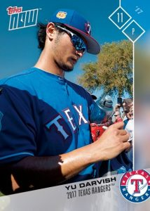 2017 Topps Now Road to Opening Day Team Sets
