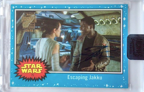2018 Topps Star Wars Archives Signature Series Trading Cards 22