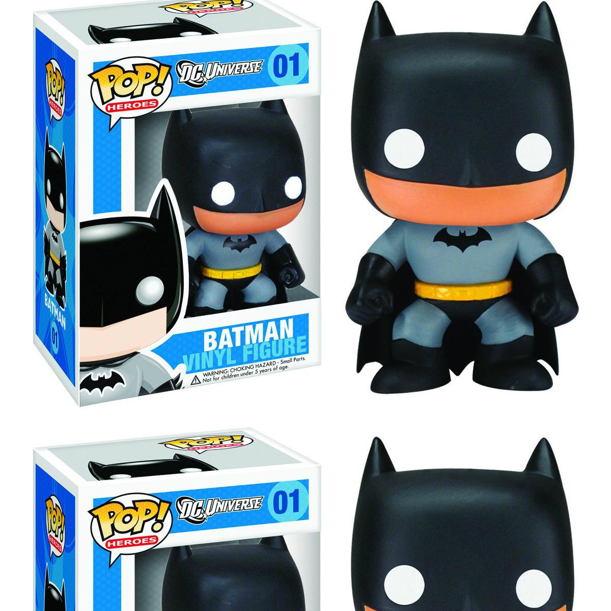 DC Heroes Classic Batman #144 Vinyl Figure Bundled with Pop Box Protector Case Funko Pop