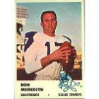 1961 Fleer Football Cards